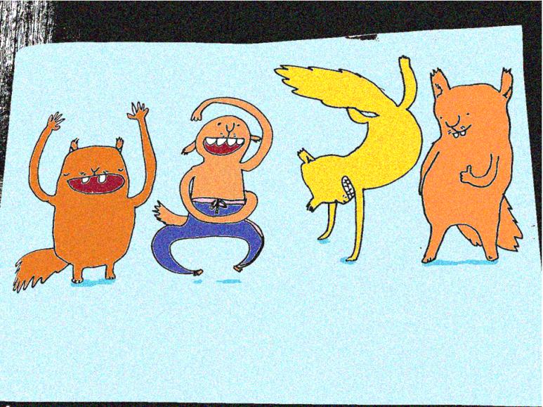 Happy squirrels edited color